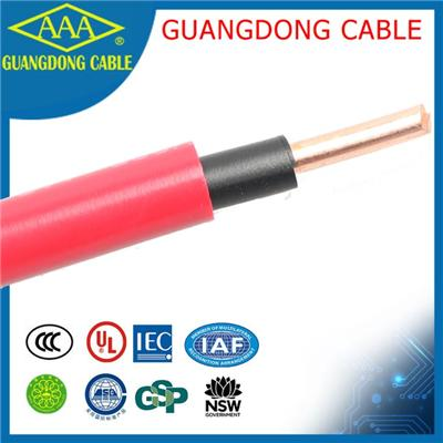 Colored 10mm Electrical Cable Size House Wire Pvc Insulated Copper Wiring