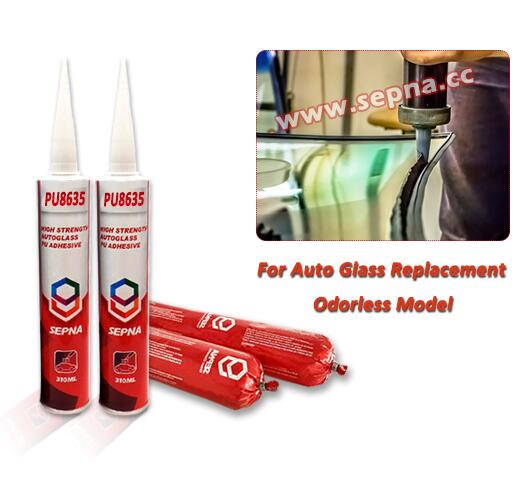 PU8635 No Smell Polyurethane Sealant for Windshield Replacement