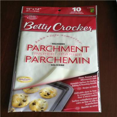 Silicone Coated Baking With Best Pre Cut Greaseproof Parchment Paper Lined Sheet For Baking