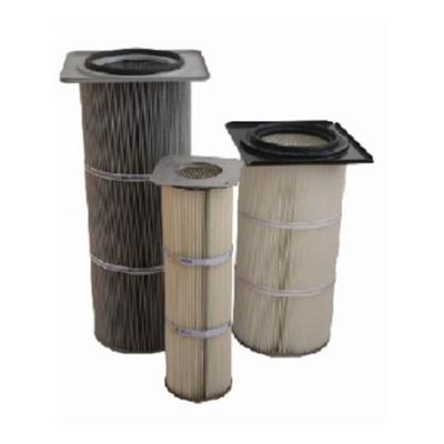 The Dust Collector Uses The Square Flange Lid Filter Cartridge