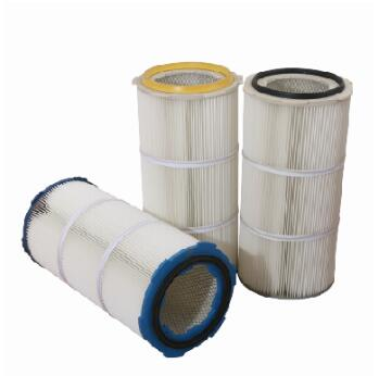 The Dust Collector USES Rotary Filter Cartridge