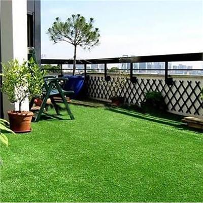 Hot Sale Natural Looking Super Soft 4 Tones Color Artificial Grass For Garden And Courtyard