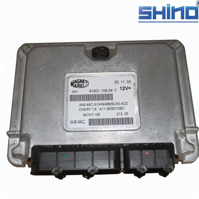 Wholesale all of auto spare parts for Chery Amulet ECU A11-3605010 with ISO9001 certification ,standard brand package anti-cracking delivery time 2weeks