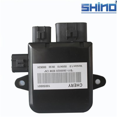 Wholesale all of auto spare parts for Chery B11 Easter FAN CONTROLLER B11-3600020 with ISO9001 certification ,standard package,warranty 1 year