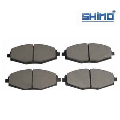 Wholesale all of spare parts for Original chery QQ front brake pads S11-3501080,material:metal and ceramic,brand package ,warranty 1 year standard package anti-cracking