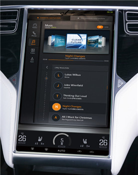Automotive interior electronics manufacturer of in-vehicle infotainment system for OEMs