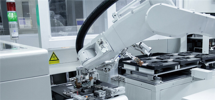 Industry 4.0 intelligent manufacturing  automatic production line