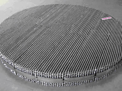 Expanded Metal Prick Corrugated Plate Packing