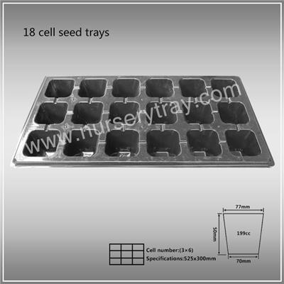 18 Cell Seed Trays