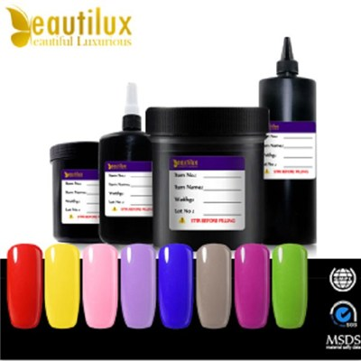 Cosmetics 3 Step Soak Off Gel Long Lasting Private Label Soak Off Uv/Led Color Gel Polish Nail Varnish