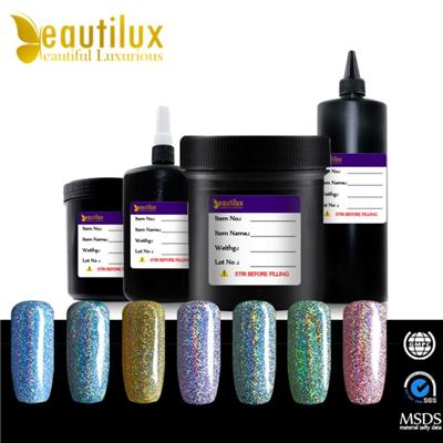 New Fashionable Holographic Uv Gel Nail Polish Hologram Nail Gel Varnish