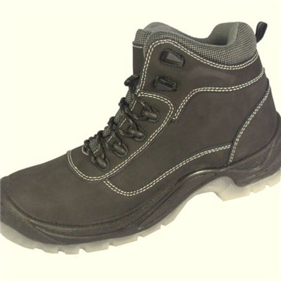 Middle Cut Steel Toe Cap Injection Safety Shoes