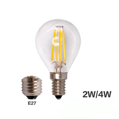 G45 Warm White 4w Led Filament Bulb E27
