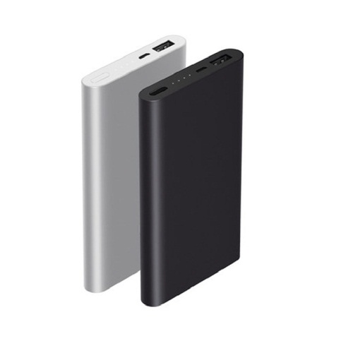Grade A battery with fast charging speed 5V/2.4A mobile charger slim power bank