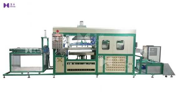 Auto blister forming high frequency welding machine