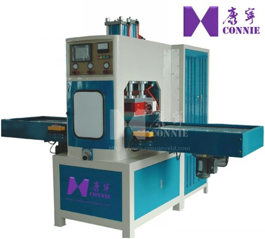 Soft crease folding box High frequency welding machine