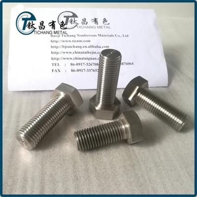 DIN 933 Titanium Hex Bolts & Screws