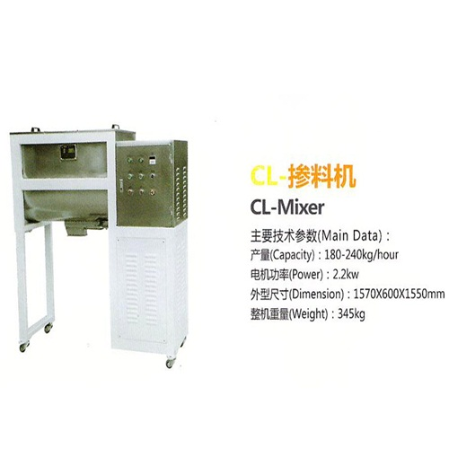 2.2kw good performance Puffed food machinery equipment CL-Mixer