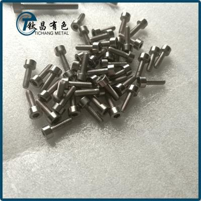 GR12 Titanium Alloy Hex Socket Bolts & Screws