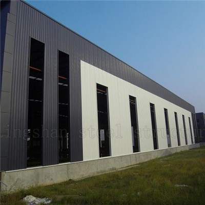 Steel Structure Metal Plant Buildings Kits For Sale