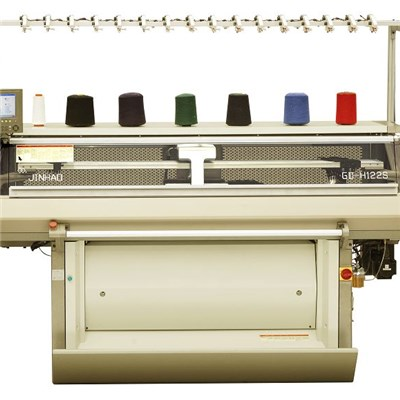 GD-H122S Computerized Flat Knitting Machine Is Easy Handing And Quick Learnable To Make The Producation More Efficient