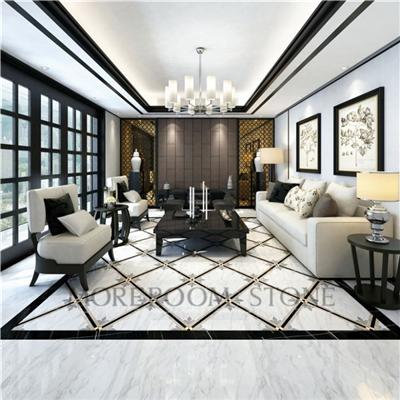 800x800 Foshan High Quality Bathroom Design Galzed Volakas White Porcelain Tile That Looks Like Natural Marble