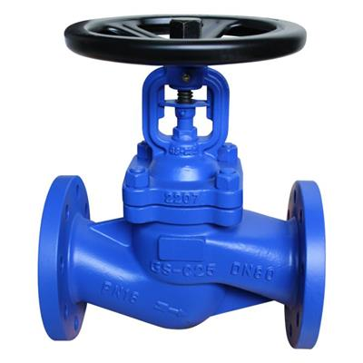 DIN Cast Steel Bellows Seal Globe Valve