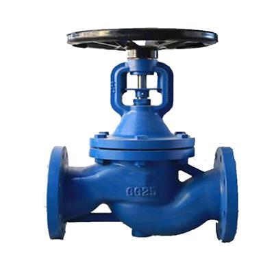 DIN Cast Iron Bellows Seal Globe Valve