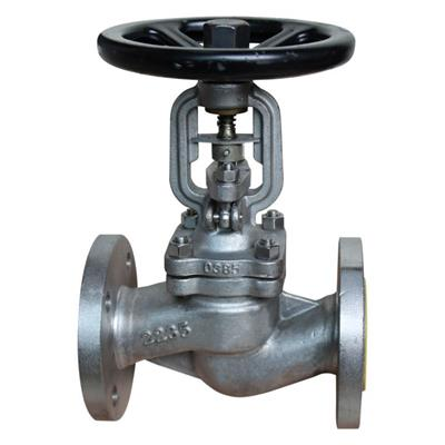 DIN Stainless Steel Bellows Seal Globe Valve