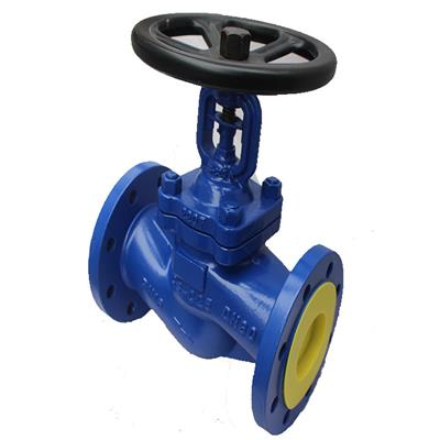 DIN Soft Seal Bellows Seal Globe Valve