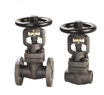 DIN Forged Steel B Ellows Seal Globe Valve