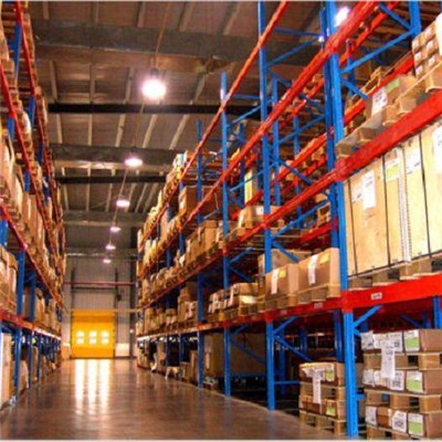 Warehouse Storage Heavy Duty Powder Coated Or Galvanized Single Deep Steel Pallet Racking