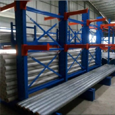 Easily Adjustable Heavy Duty Selective Cantilever Design Warehouse Rack