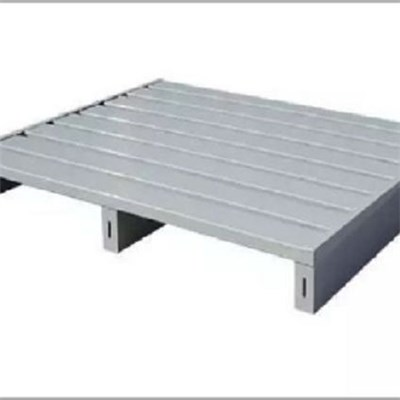 High Strength Warehouse Rack Storage Cold Rolled Steel Pallet