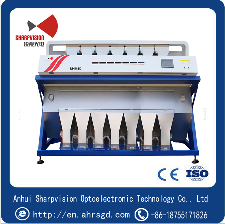 high quality  Seeds used Color Sorter for grain color sorter machine price with CCD camera