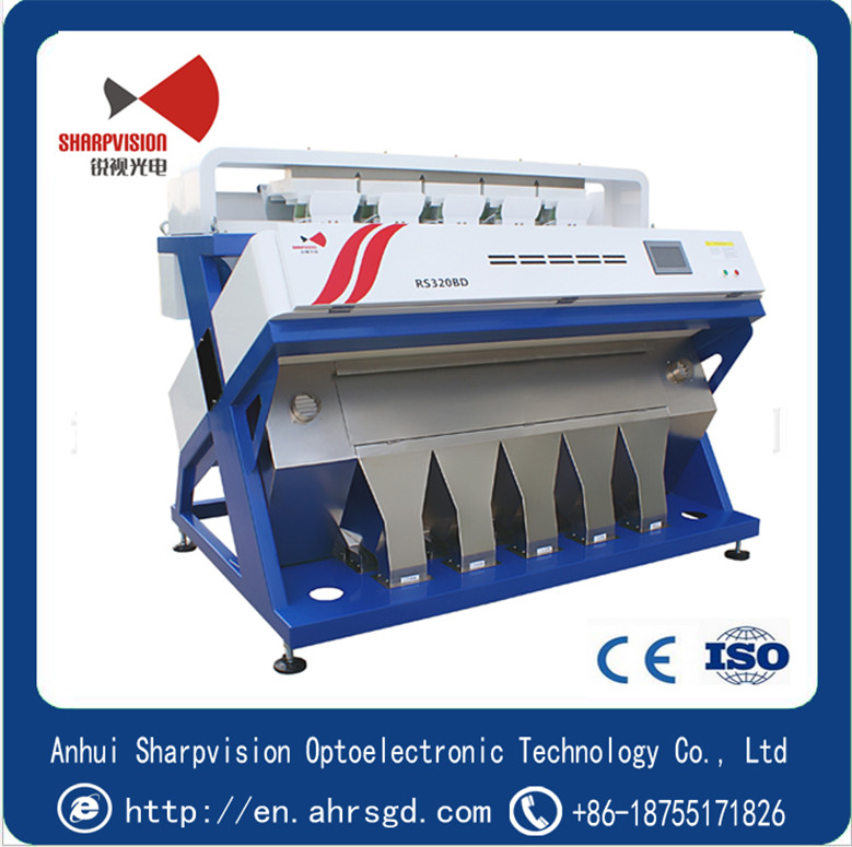 Plastic color sorter machine for ABS,PET,PVC or PP plastics flakes color sorter RS320BD