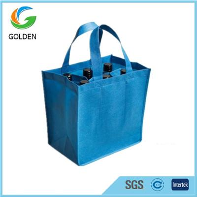 Promotionpromotional 6 Bottle Wine Carrier Non Woven Tote Bagsal 6 Bottle Wine Carrier Non Woven Tote Bags
