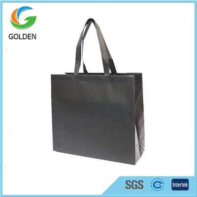 Promotional And Biodegradable Laminated Non Woven Carry Shopping Bags