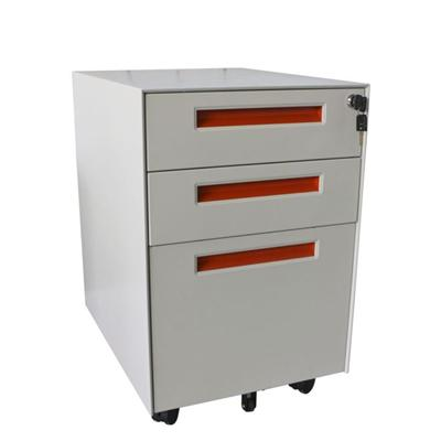 High Quality Office Furniture 3 Drawer Mobile Pedestal Steel Filing Cabinet