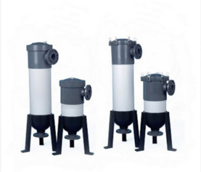 PVC/PP water treatment filter bag housings