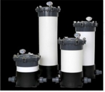 Water treatment PVC/PP filter cartridges housings