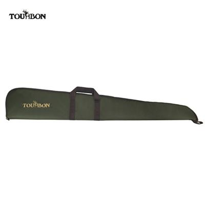 Tourbon Hunting Shotgun Gun Case Storage Bag With Adjustable Shoulder Strap Green