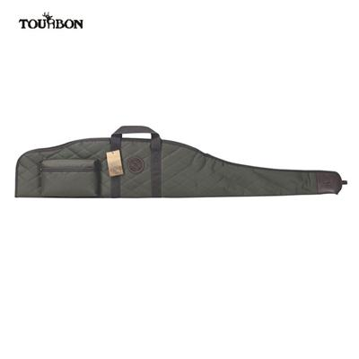 Tourbon Nylon Gun Bag 52 Inch Scoped Rifle Soft Case With Pocket - Green