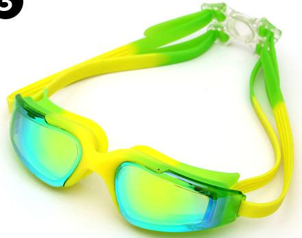 silicone goggle for swimming and diving adult size