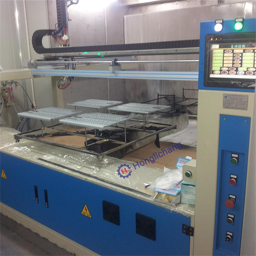 China Reciprocator Painting Line with Automatic Painting Machine and Booth