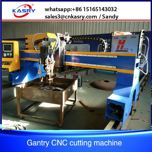 metal plate cnc oxy fule plasma cutting machine