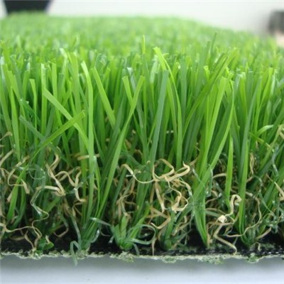 U Shape Outdoor Artificial Grass For Landscaping Synthetic Grass For Garden