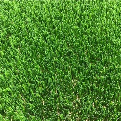 Wave Shape Synthetic Artificial Fake Lawn Turf For Backyard