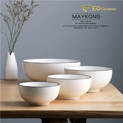 Round Ceramic Soup Bowl