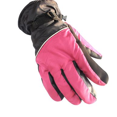 Microfiber Thermal Ski Gloves For Outdoor Sport